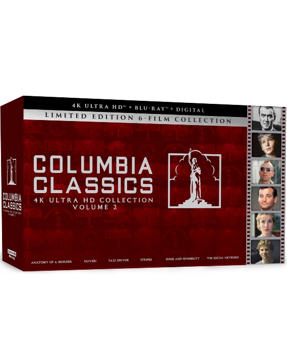 Columbia Classics Collection: Volume 2 in 4K Ultra HD Blu-ray at HD MOVIE SOURCE