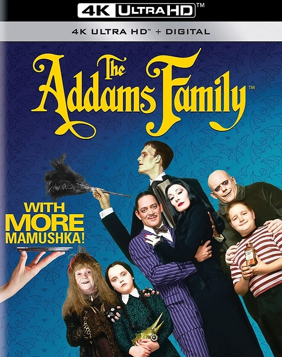 The Addams Family in 4K Ultra HD Blu-ray at HD MOVIE SOURCE