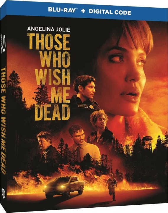 Those Who Wish Me Dead Blu-ray