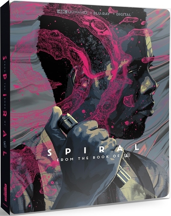 Spiral: From the Book of Saw SteelBook in 4K Ultra HD Blu-ray at HD MOVIE SOURCE