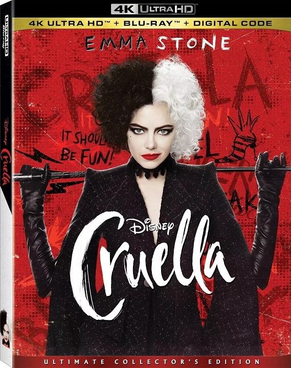 Cruella in 4K Ultra HD Blu-ray at HD MOVIE SOURCE