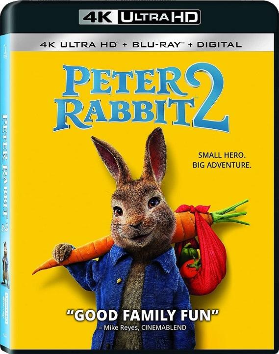 Peter Rabbit 2: The Runaway in 4K Ultra HD Blu-ray at HD MOVIE SOURCE