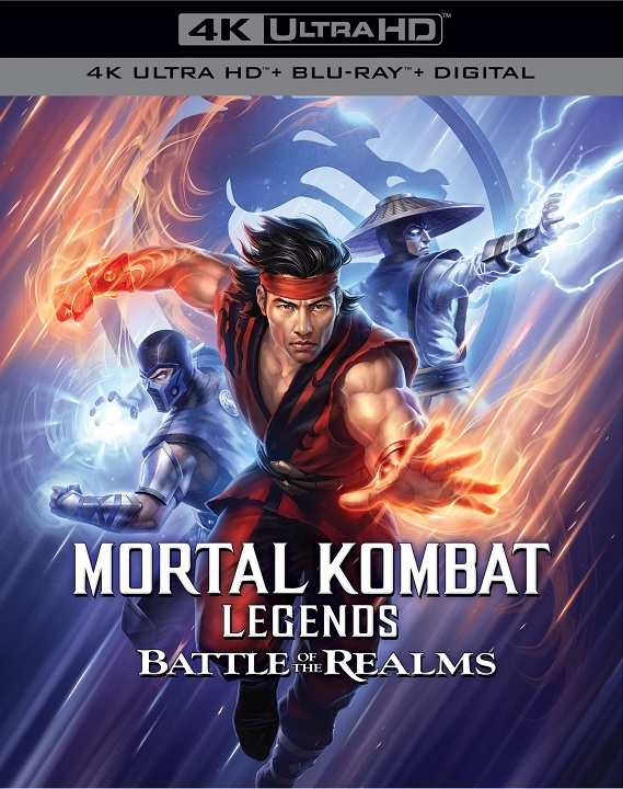 Mortal Kombat Legends: Battle of the Realms in 4K Ultra HD Blu-ray at HD MOVIE SOURCE
