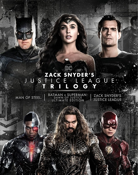 Zack Snyder's Justice League Trilogy in 4K Ultra HD Blu-ray at HD MOVIE SOURCE