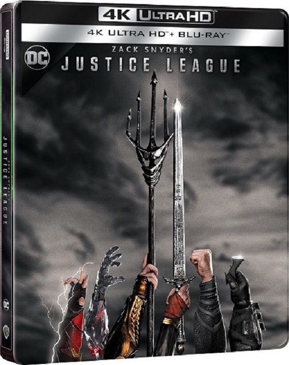 Zack Snyder's Justice League SteelBook in 4K Ultra HD Blu-ray at HD MOVIE SOURCE