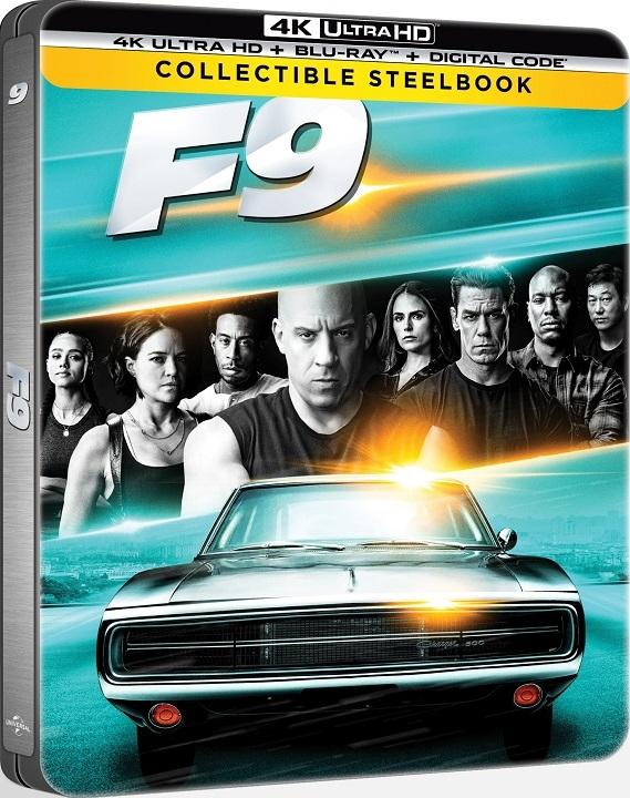 F9: The Fast Saga SteelBook in 4K Ultra HD Blu-ray at HD MOVIE SOURCE
