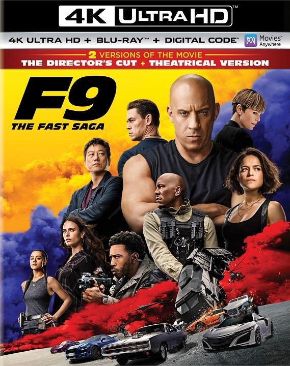 F9: The Fast Saga in 4K Ultra HD Blu-ray at HD MOVIE SOURCE