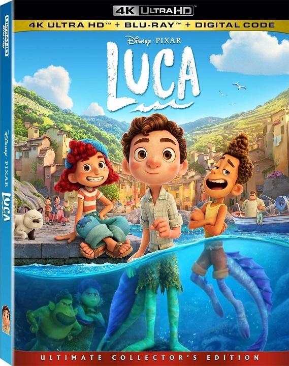 Luca in 4K Ultra HD Blu-ray at HD MOVIE SOURCE