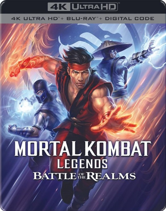 Mortal Kombat Legends: Battle of the Realms SteelBook in 4K Ultra HD Blu-ray at HD MOVIE SOURCE