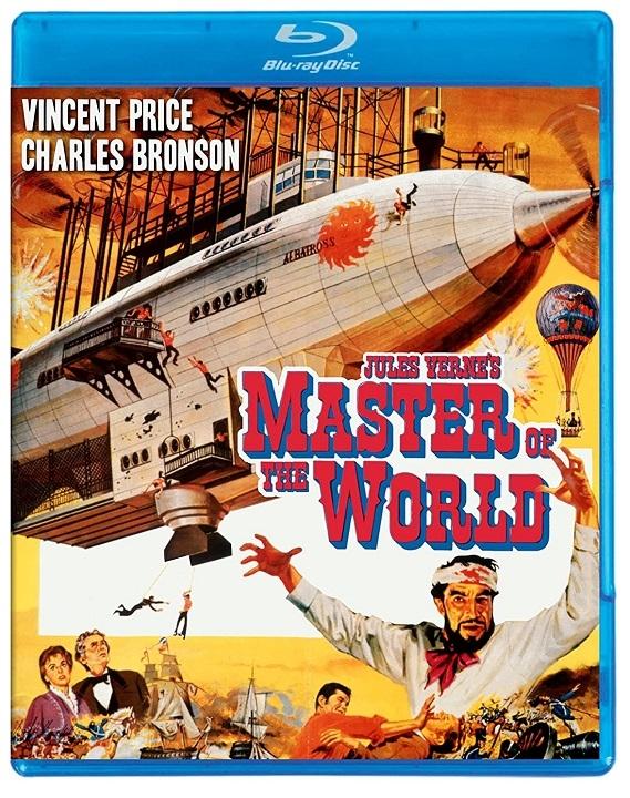 Master of the World Blu-ray