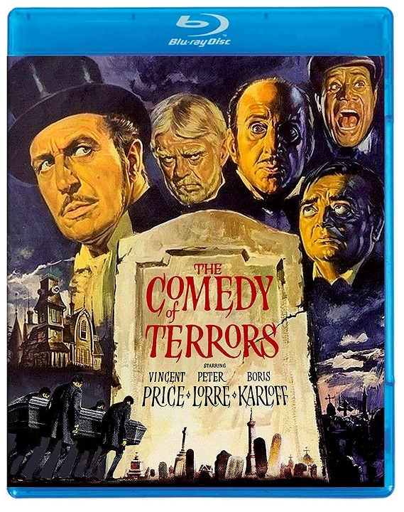 The Comedy of Terrors Blu-ray