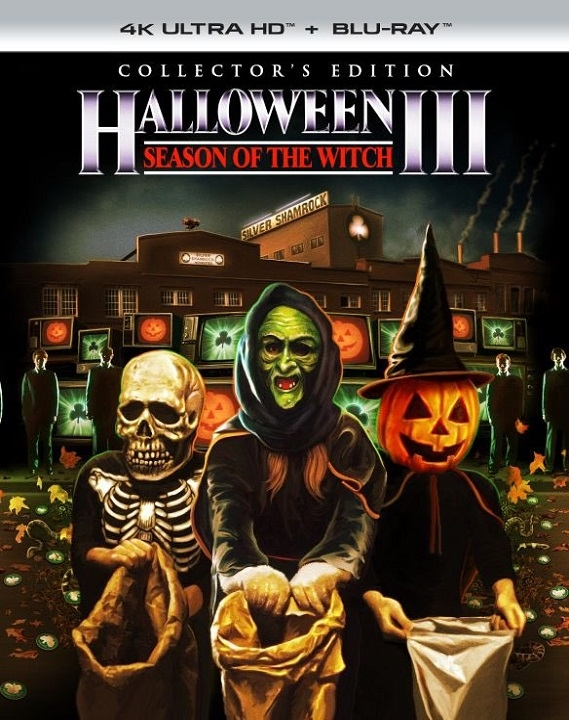 Halloween III: Season of the Witch (Collector's Edition) in 4K Ultra HD Blu-ray at HD MOVIE SOURCE