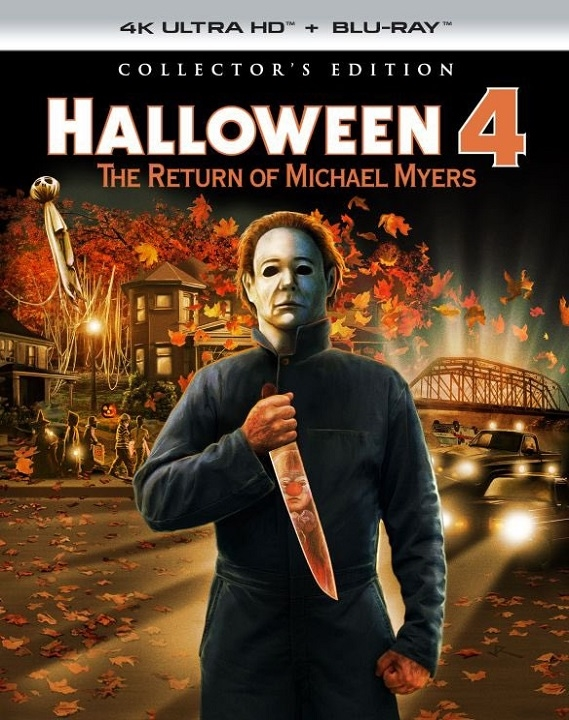 Halloween 4: The Return of Michael Myers (Collector's Edition) in 4K Ultra HD Blu-ray at HD MOVIE SOURCE