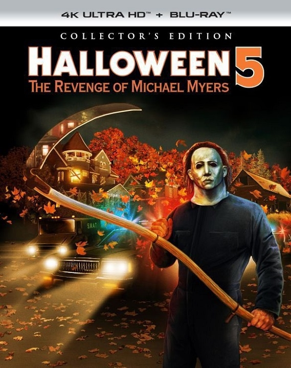 Halloween 5: The Revenge of Michael Myers (Collector's Edition) in 4K Ultra HD Blu-ray at HD MOVIE SOURCE