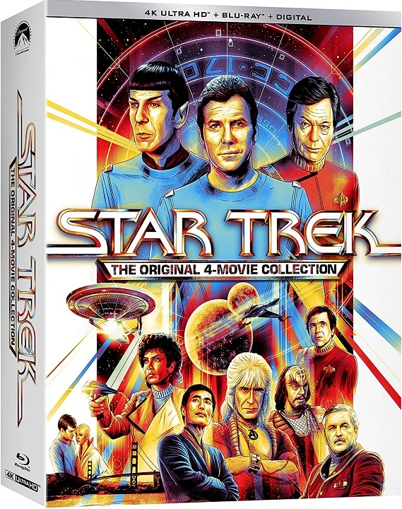 Star Trek: The Original 4 Movie Collection in 4K Ultra HD Blu-ray at HD MOVIE SOURCE