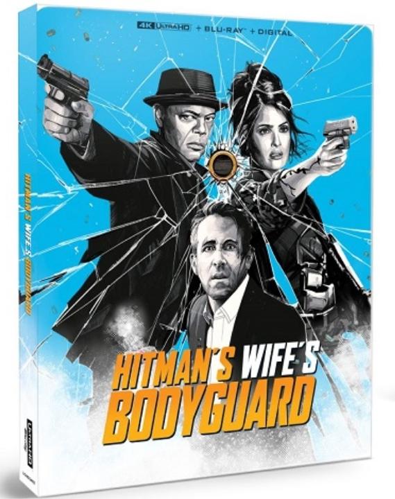 Hitman's Wife's Bodyguard SteelBook in 4K Ultra HD Blu-ray at HD MOVIE SOURCE