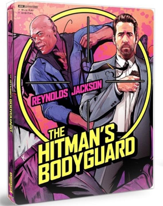 The Hitman's Bodyguard SteelBook in 4K Ultra HD Blu-ray at HD MOVIE SOURCE