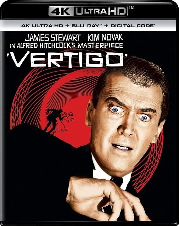 Vertigo in 4K Ultra HD Blu-ray at HD MOVIE SOURCE