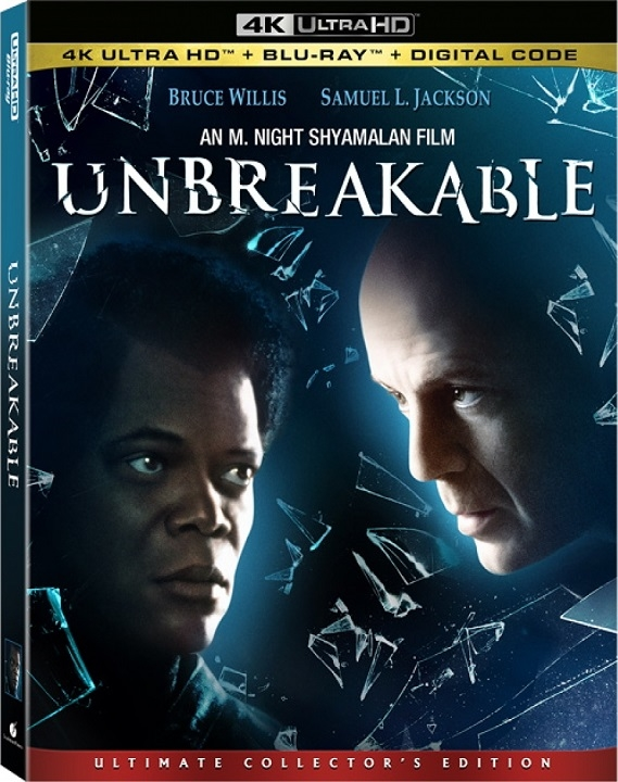 Unbreakable in 4K Ultra HD Blu-ray at HD MOVIE SOURCE