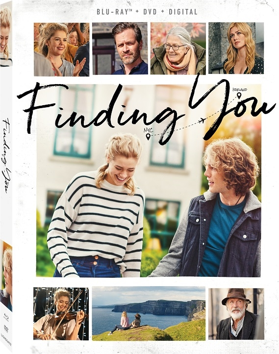 Finding You Blu-ray