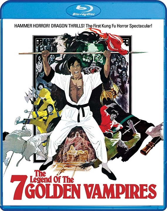 The Legend of the 7 Golden Vampires Blu-ray