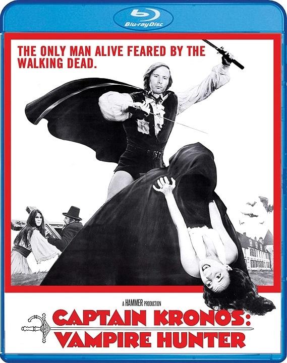 Captain Kronos: Vampire Hunter Blu-ray