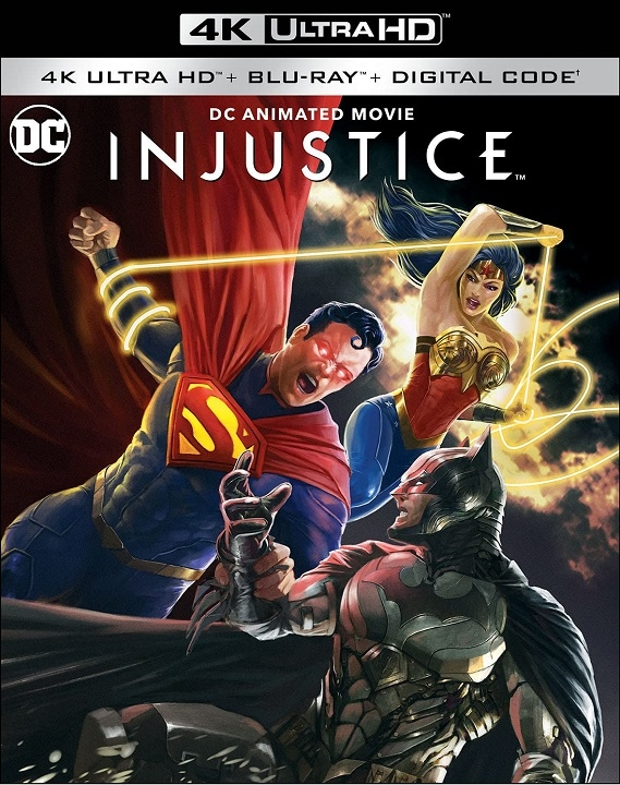 Injustice in 4K Ultra HD Blu-ray at HD MOVIE SOURCE
