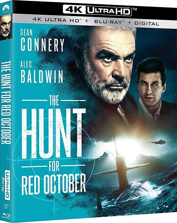 The Hunt for Red October in 4K Ultra HD Blu-ray at HD MOVIE SOURCE