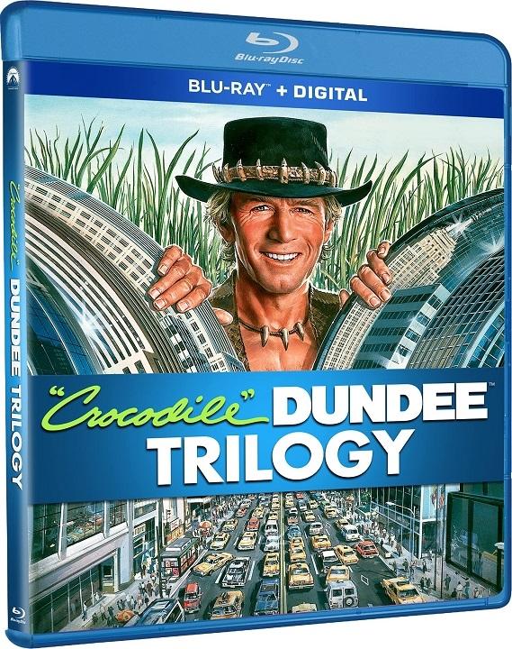 The Crocodile Dundee Trilogy Blu-ray