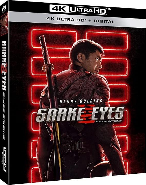 Snake Eyes: G.I. Joe Origins in 4K Ultra HD Blu-ray at HD MOVIE SOURCE