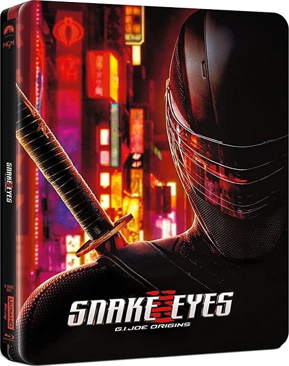 Snake Eyes: G.I. Joe Origins SteelBook in 4K Ultra HD Blu-ray at HD MOVIE SOURCE