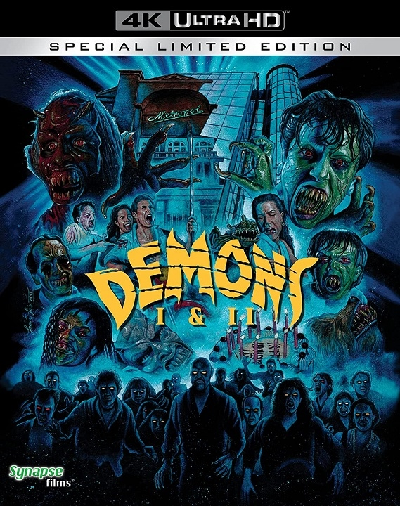 Demons 1 and 2 in 4K Ultra HD Blu-ray at HD MOVIE SOURCE