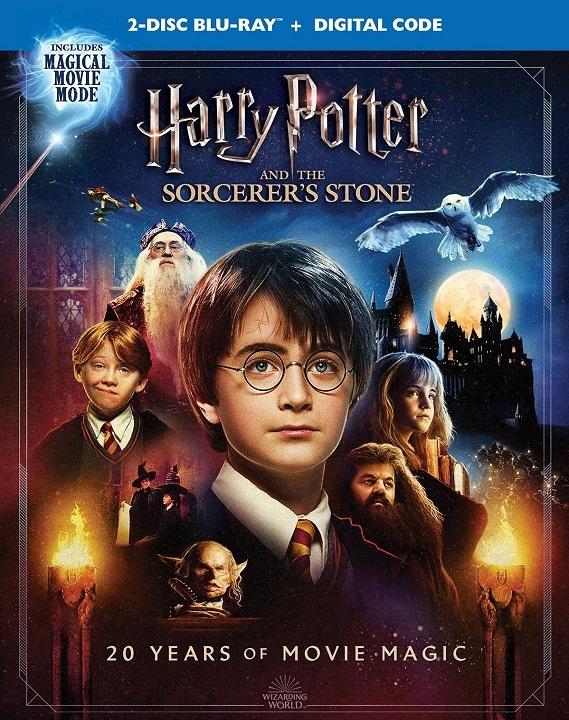 HP1: Sorcerer's Stone (Magical Movie Mode ) Blu-ray