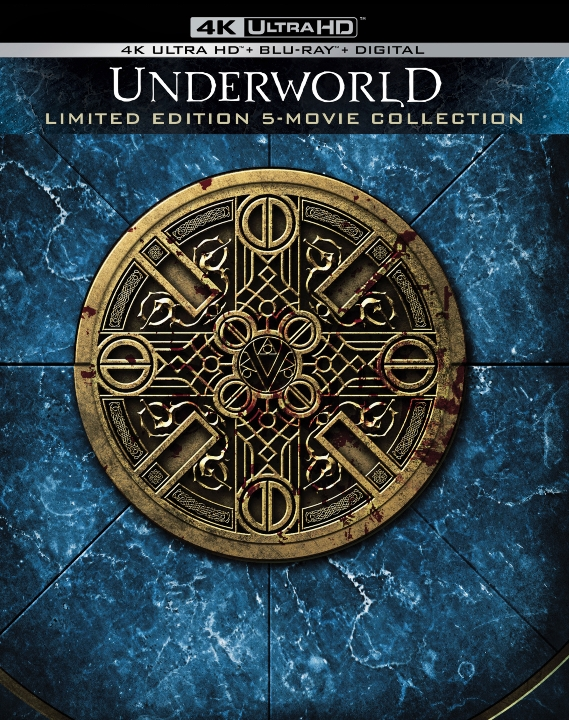 Underworld 5 Movie Collection in 4K Ultra HD Blu-ray at HD MOVIE SOURCE