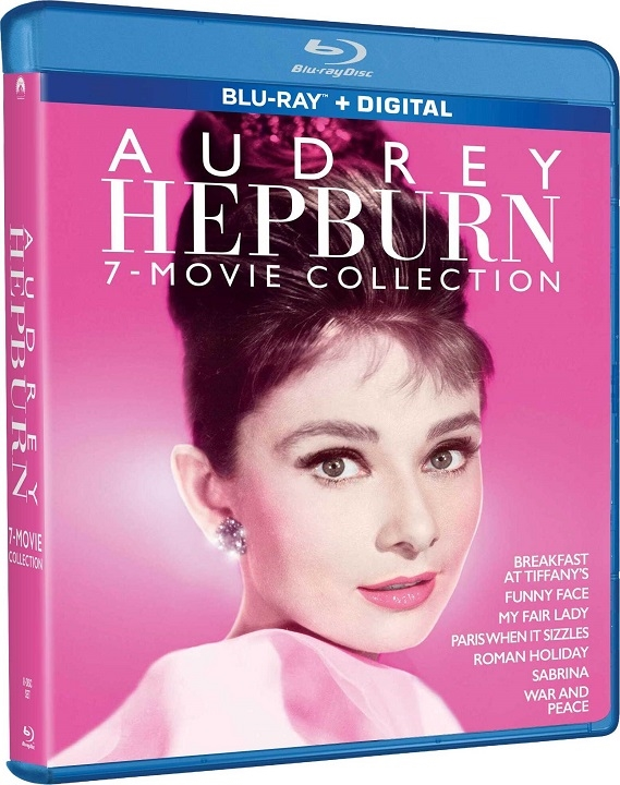 Audrey Hepburn: 7-Movie Collection Blu-ray
