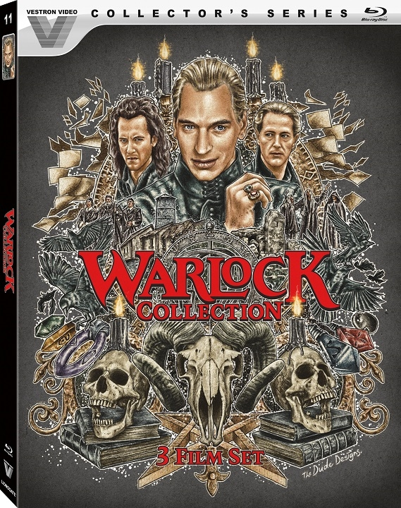 Warlock Collection 3 Film Set Blu-ray