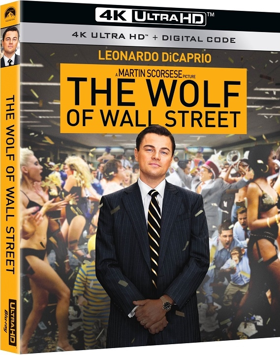 The Wolf of Wall Street in 4K Ultra HD Blu-ray at HD MOVIE SOURCE