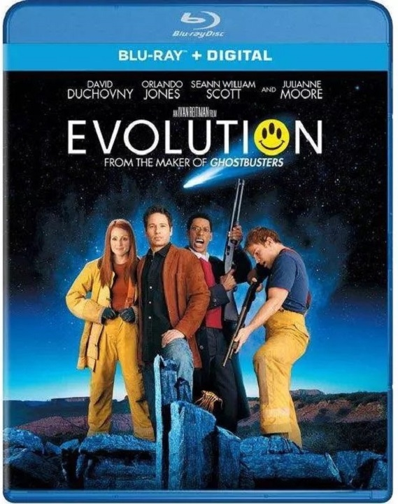 Evolution Blu-ray