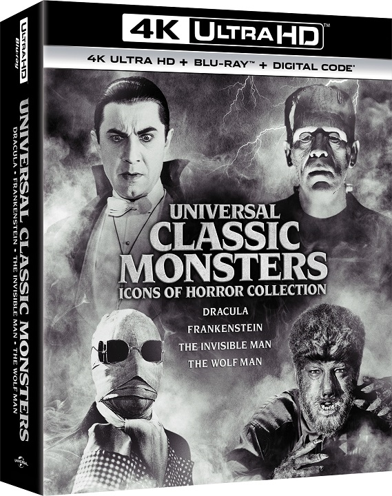 Universal Classic Monsters in 4K Ultra HD Blu-ray at HD MOVIE SOURCE
