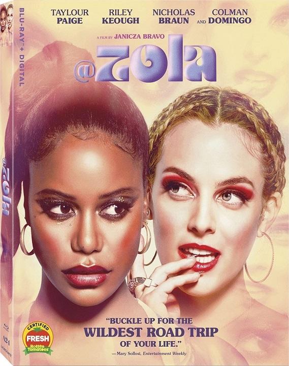 Zola Blu-ray