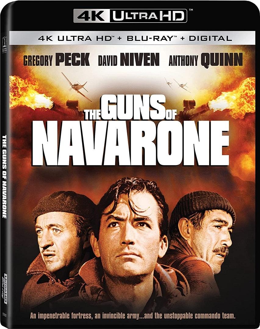 The Guns of Navarone in 4K Ultra HD Blu-ray at HD MOVIE SOURCE