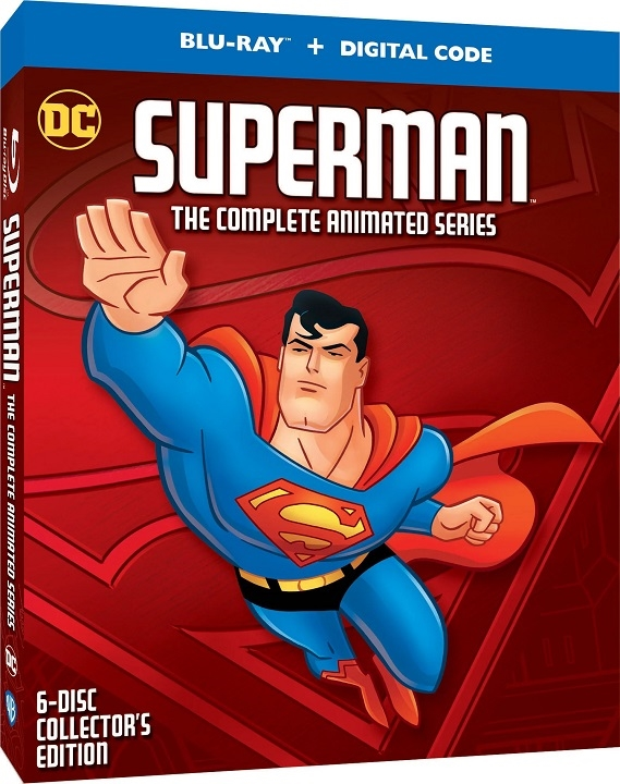 Superman: The Complete Animated Series Blu-ray