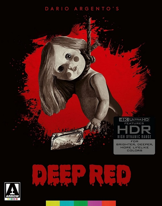 Deep Red (Limited Edition) in 4K Ultra HD Blu-ray at HD MOVIE SOURCE