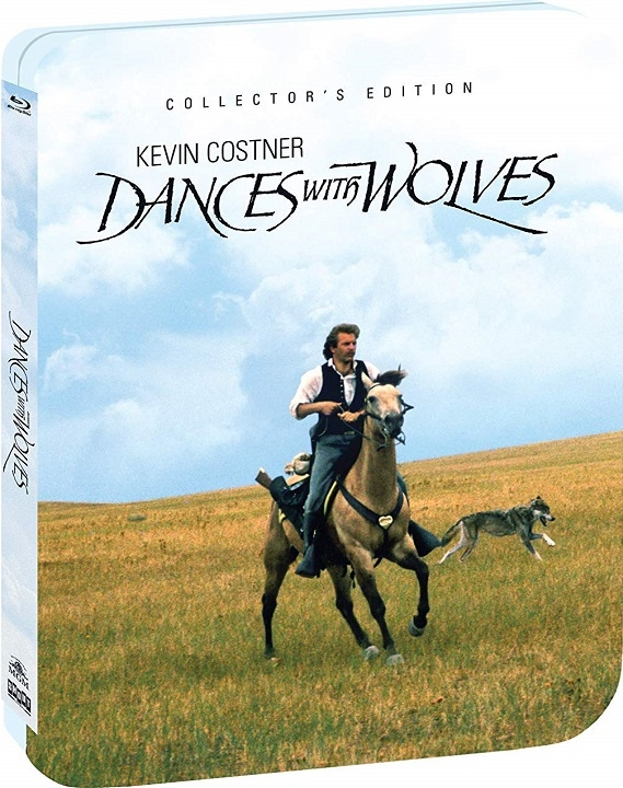 Dances with Wolves (Limited Edition Steelbook) Blu-ray