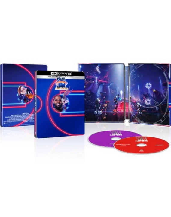 Space Jam 2: A New Legacy SteelBook in 4K Ultra HD Blu-ray at HD MOVIE SOURCE