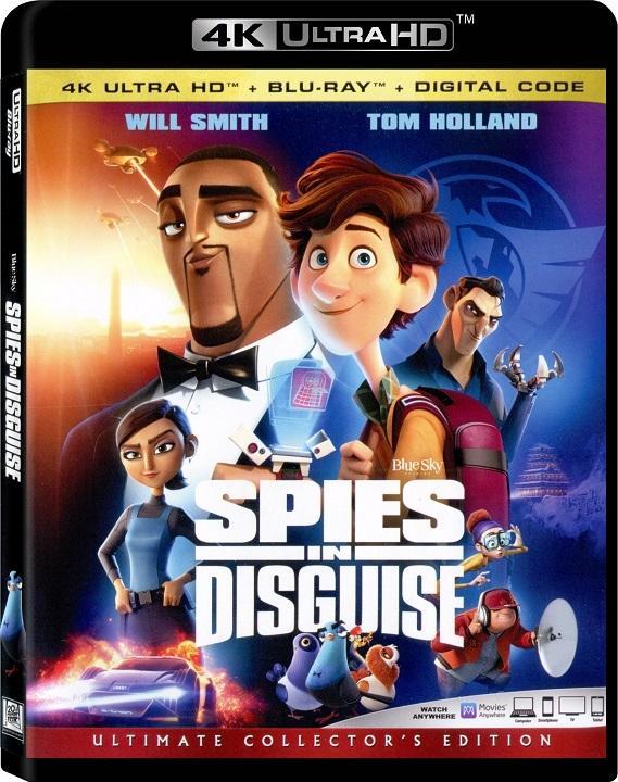 Spies in Disguise UHD Ultra HD Blu-ray