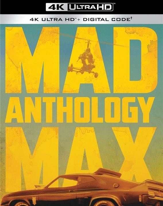 Mad Max Anthology in 4K Ultra HD Blu-ray at HD MOVIE SOURCE