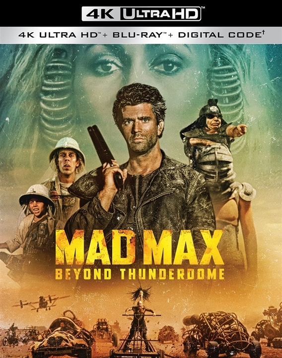 Mad Max 3: Beyond Thunderdome in 4K Ultra HD Blu-ray at HD MOVIE SOURCE