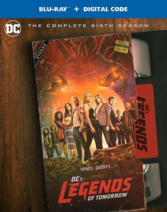 DC's Legends of Tomorrow: The Complete Sixth Season Blu-ray