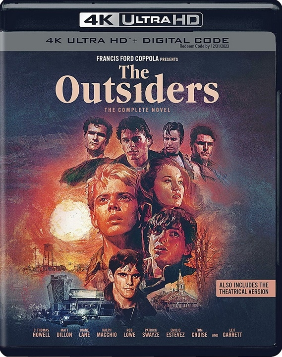 The Outsiders (The Complete Novel) in 4K Ultra HD Blu-ray at HD MOVIE SOURCE